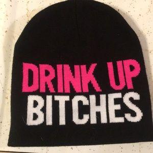 Black drink up b thces beanie 71171682a7b3
